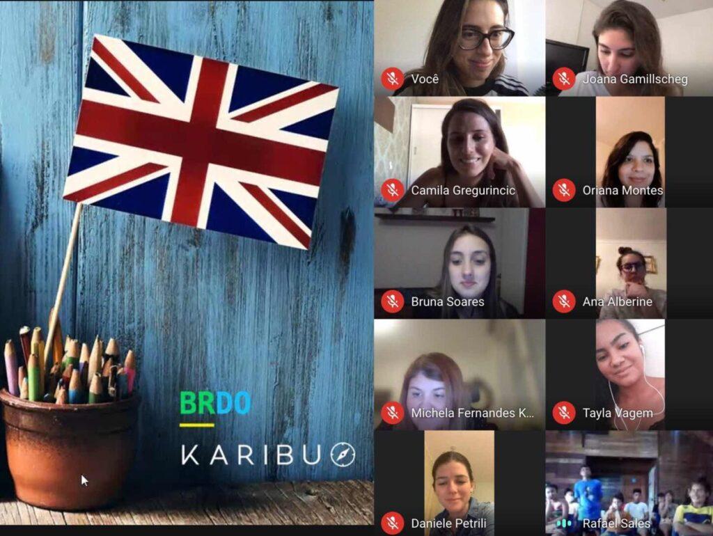 Voluntariado Online na Amazônia - Aula de inglês