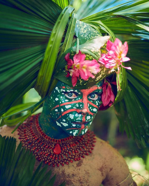 Indígena LGBTQIA+: Uýra, por Hick Duarte